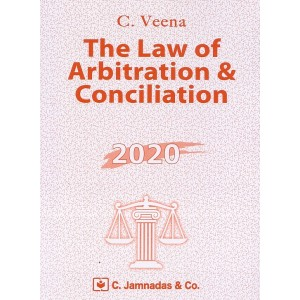 Jhabvala Notes on Law of Arbitration & Conciliation for BSL & LL.B by C. Veena | C. Jamnadas & Co.