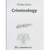 Jhabvala Book on Criminology for BSL & LLB by Pritha Dave, C.Jamnadas & Co