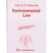 Jhabvala Law Series: Environmental Law for BSL & LL.B by H. D. Pithawalla | C. Jamnadas & Co