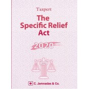 Jhabvala Law Series: Specific Relief Act For BSL, LL.B by Taxpert - C. Jamnadas & Co.