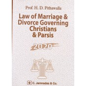 Jhabvala's Law of Marriage & Divorce Governing Christians & Parsis for BSL & LL.B by H.D. Pithavala | C. Jamnadas & Co.