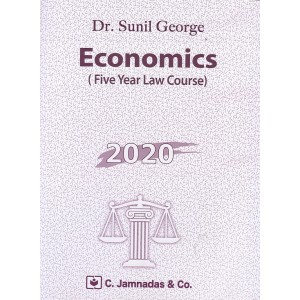 Jhabvala Law Series's Economics for LL.B (5 Year Law Course) by Dr. Sunil George | C. Jamnadas & Co.