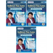CA. Yashvant Mangal's Indirect Tax Laws [IDT - GST & Customs] for CA/CS/CMA Final & Professional November 2020/December 2020 Exam [3 Vols.]
