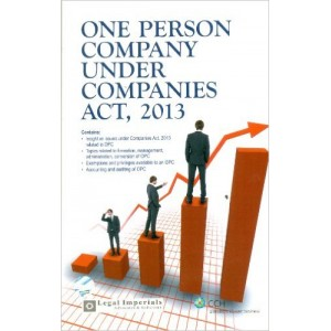 One Person Company Under Companies Act, 2013 by CCH Publications