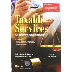 CCH's Taxable Services: A Comprehensive Analysis by  Ashok Batra