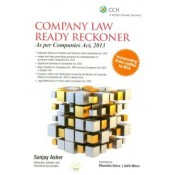 CCH Publications Company Law Ready Reckoner as per Companies Act, 2013 [HB] by Sanjay Asher