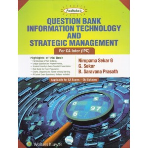 Padhuka's Question Bank on Information Technology & Strategic Management [ITSM] for CA Inter (IPCC) May 2018 Exam [Old Syllabus] By Nirupama Sekar