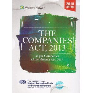 CCH's The Companies Act, 2013 As per Companies (Amendment) Act, 2017 [Pocket]