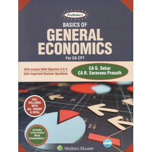 Padhuka's Basics of General Economics for CA-CPT 2018 by G Sekar & B. Sarvana Prasath | CCH Wolter Kluwer