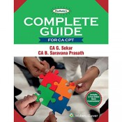 Padhuka's Complete Guide For CA CPT 2018 by CA. G. Sekar, CA. B. Saravana Prasath | Wolter Kluwer