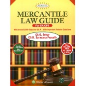 Padhuka's Mercantile Laws Guide for CA-CPT 2018 by G Sekar & B. Sarvana Prasath | CCH Wolter Kluwer