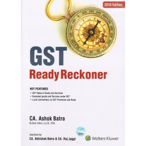 CCH's GST Ready Reckoner 2018-19 by CA. Ashok Batra