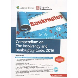 CCH's Compendium on The Insolvency and Bankruptcy Code, 2016 by Corporate Professionals