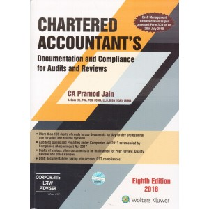 CCH's Chartered Accountants Documentation and Compliance for Audits and Reviews by CA. Pramod Jain