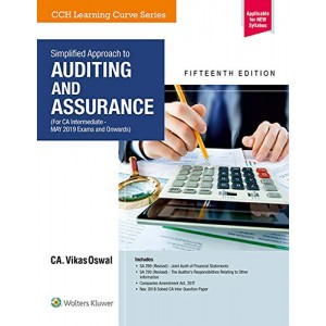 CCH's Simplified Approach to Auditing & Assurance For CA Inter May 2019 Exam [New Syllabus] by CA Vikas Oswal