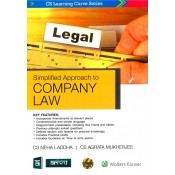 CCH's Simplified Approach to Company Law for CS Executive June 2019 Exam [New Syllabus] by CA. Neha Laddha, CS. Agrata Mukherjee