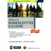 CCH's Setting up of Business Entities & Closure for CS Executive June 2019 Exam [New Syllabus] by CA Agrata Mukherjee & CS Neha Laddha