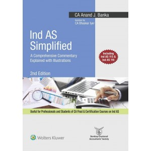 Wolter Kluwer's Ind AS Simplified by CA. Anand J. Banka