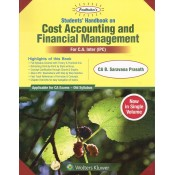 Padhuka's Student Handbook on Cost Accounting & Financial Management CA Inter (IPCC) November 2019 Exam [Old Syllabus] by CA B. Saravana Prasath | Wolters Kluwer