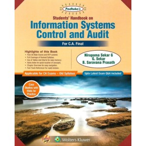 Padhuka's Students Handbook on Information Systems Control and Audit [ISCA] for CA Final November 2019 Exam [Old Syllabus] | Wolter Kluwer