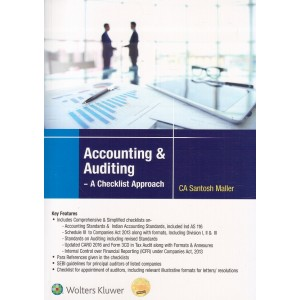Wolter Kluwer's Accounting & Auditing - A Checklist Approach by CA. Santosh Maller