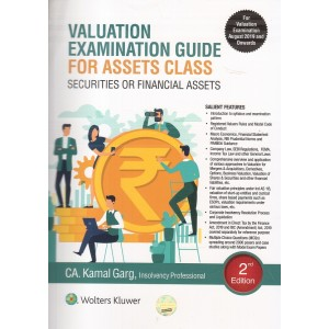Wolters Kluwer's Valuation Examination Guide for Assets Class Securities or Financial Assets 2019 by CA. Kamal Garg