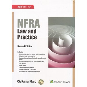 CCH's NFRA Law and Practice by CA. Kamal Garg | National Financial Reporting Authority