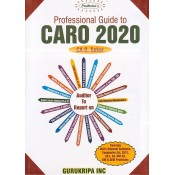 Padhuka's Professional Guide to CARO 2020 by CA. G. Sekar