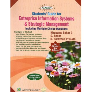 Padhuka's Enterprise Information Systems & Strategic Management including MCQs for CA Inter May 2020 Exam [New Syllabus] by Nirupama Sekar, G. Sekar | Wolters Kluwer