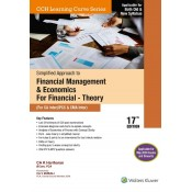 Wolters Kluwer's Simplified Approach to Financial Management & Economics for Finance - Theory for CA Inter/IPCC & CMA Inter May 2020 Exams by CA. K. Hariharan [Old & New Syllabus]