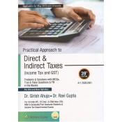 Wolters Kluwer's Practical Approach to Direct & Indirect Taxes (Income Tax & GST) for CA Inter [IPCC] May 2020 Exam [Old & New Syllabus] by Dr. Girish Ahuja, Dr. Ravi Gupta