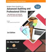 Wolters Kluwer's Multiple Choice Questions [MCQs] on Advanced Auditing & Professional Ethics for CA Final May 2020 Exam [Old & New Syllabus] by CA. Vikas Oswal