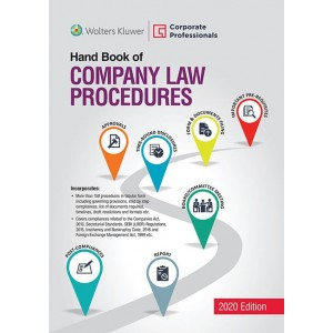 Wolters Kluwer's Handbook of Company Law Procedures by Corporate Professionals