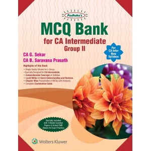 Padhuka's MCQ Book Bank for CA Inter Group II May 2020 Exam [Old & New Syllabus] by CA. G. Sekar, CA. B. Saravana Prasath (Containing Auditing & Assurance, Enterprise Information System & Strategic Management)