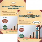 Padhuka's Handbook for Insolvency Professional's Examination 2020 by CA. G. Sekar [2 Volumes] | Wolters Kluwer