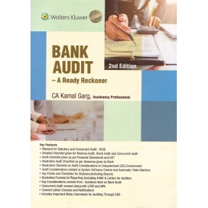 Wolters Kluwer's Bank Audit: A Ready Reckoner 2020 by CA. Kamal Garg