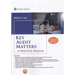 Wolter Kluwer's Key Audit Matters: A Practice Manual [HB] by Mohan R. Lavi