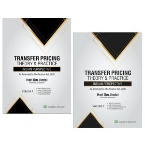 Wolters Kluwer's Transfer Pricing Theory & Practice: Indian Perspective by CA. Hari Om Jindal (2 HB Vols)