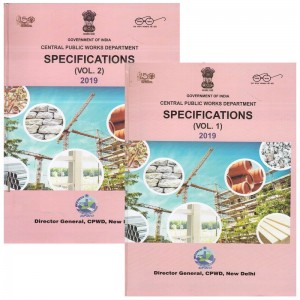 Central Public Works Department [CPWD] Specifications 2019 by CPWD Government of India [2 HB Vols]