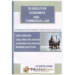 CS Notes Home's Economics and Commercial Law (ECL) for CS Executive December 2017 Exam by CS. Shweta Sharma