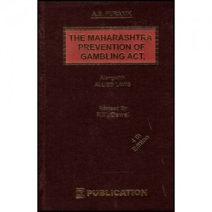 A. B. Puranik's The Maharashtra Prevention of Gambling Act with Allied Laws, CTJ Publications