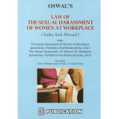 CTJ's Law of the Sexual Harassment of Women at Workplace Act & Rules, 2013 (India and Abroad) by Adv. F. M. Oswal [HB]