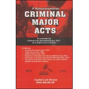 Capital Law House's Criminal Major Acts (IPC, Cr.P.C, Evidence) by P. Ramasubramanian