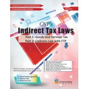 CNP's Indirect Tax Laws [IDT] including GST & Custom Law for CA Final November 2018 Exam [New Course] by CA. Uttam Prakash Agarwal