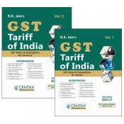 R. K. Jain's GST Tariff of India 2020-21 by Centax Publication | Budget 2020