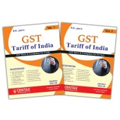 R. K. Jain's GST Tariff of India 2021-22 by Centax Publication