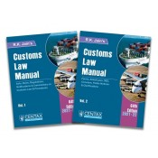 R. K. Jain's Customs Law Manual 2021-22 [2 Vols] by Centax Publication