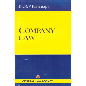 Central Law Agency's Company Law by Dr. N. V. Paranjape