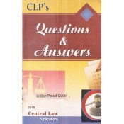 Central Law Publication's Questions & Answers on Indian Penal Code [IPC] by Ashish Tiwari | Law of Crimes