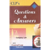 Central Law Publication's Questions & Answers on Company Law by Ashish Tiwari